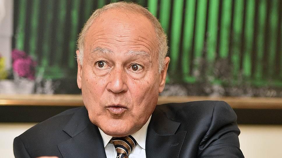 """Что генсек Лиги арабских государств рассказал """"Ъ"""" об отношении к политике Москвы в регионе"""