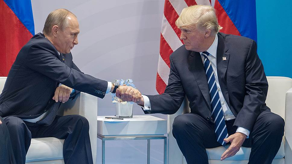 Рука Москвы пожала руку Вашингтона