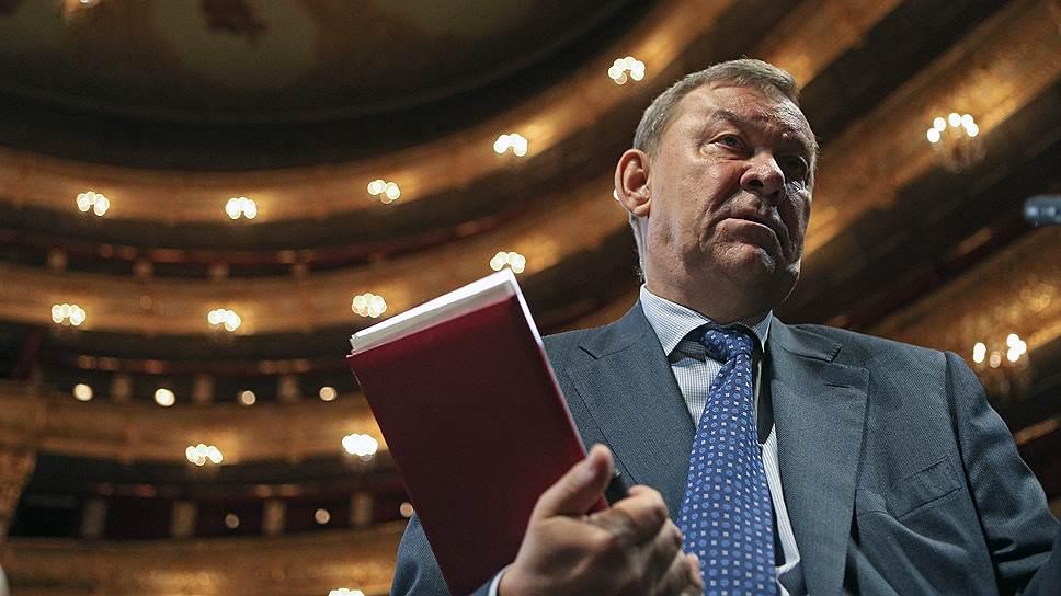 Как в Большом театре объяснили отмену балета «Нуреев»