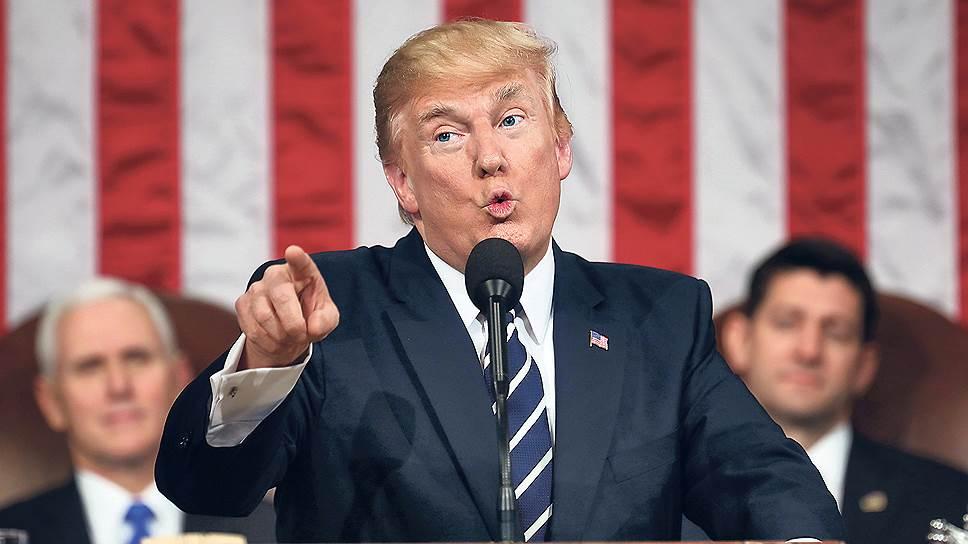 Как Дональд Трамп защищает военный бюджет от Конгресса