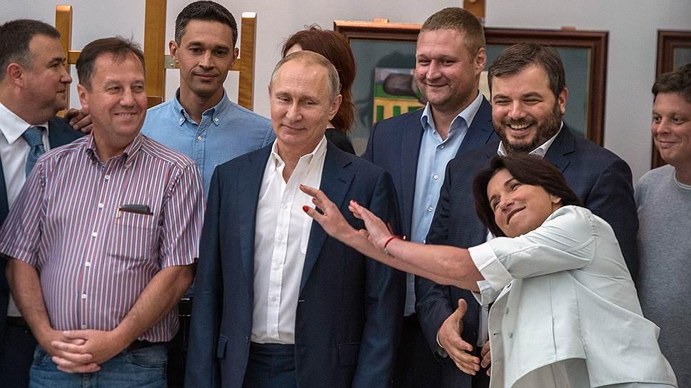 Как Владимир Путин Владимир Путин посетил образовательный центр «Сириус» в Сочи
