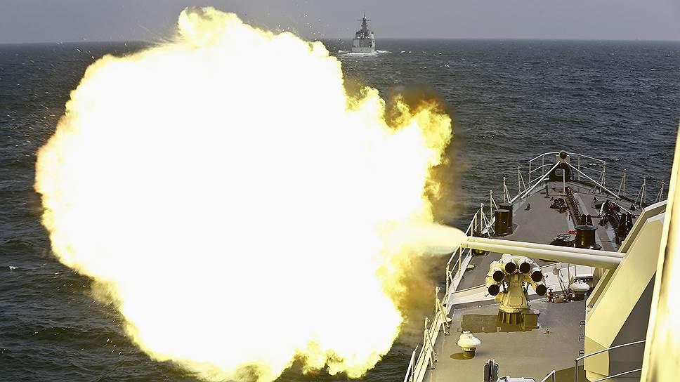 Как военные провели совместные учения в море