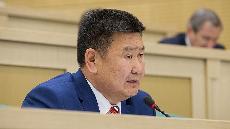 Сенатор от Иркутской области Вячеслав Мархаев