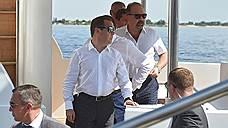 Дмитрий Медведев показал министрам реку, на берегах которой живет больше трети населения России