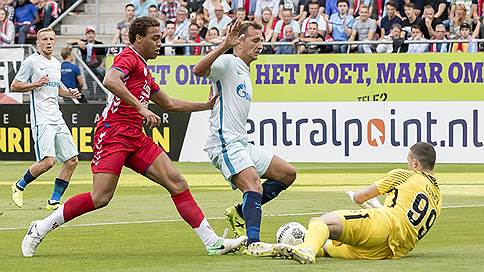 У «Зенита» проблемы с квалификацией // Лидер чемпионата России потерпел второе поражение подряд в Лиге Европы