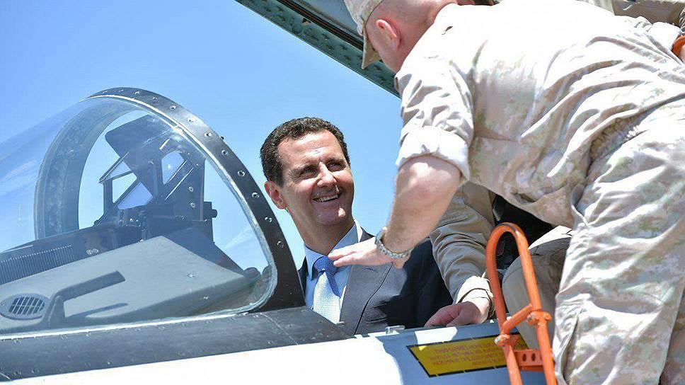 Президент Сирии Башар Асад уже предвкушает победу в войне с «Исламским государством»