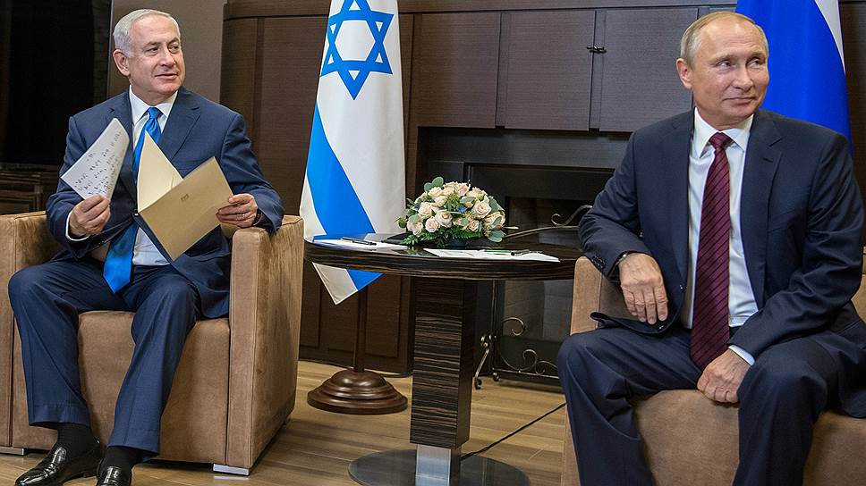 Как Биньямин Нетаньяху приехал к Владимиру Путину искать защиты от Ирана