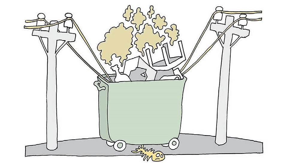 Как мусор борется за место под солнцем