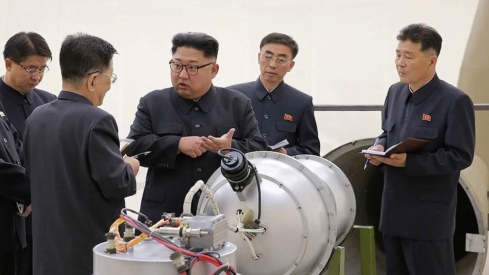 Пхеньян предположительно добился успехов в разработке атомной боеголовки