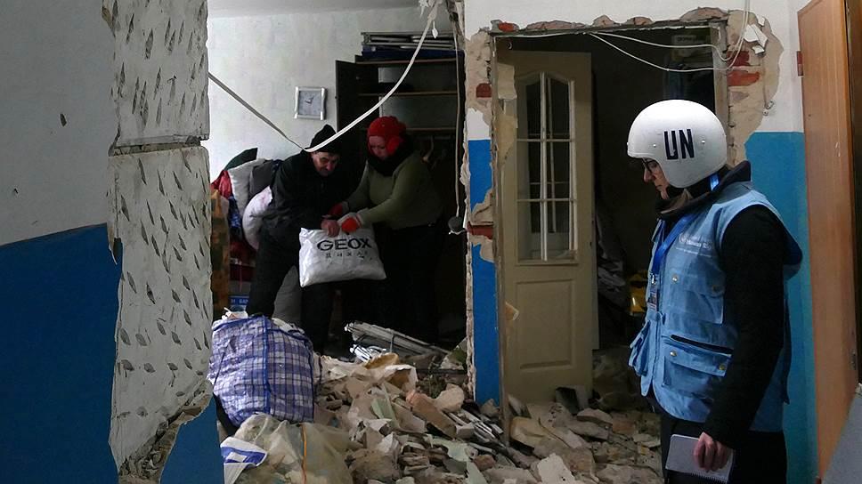 За безопасность представителей ООН и других международных организаций в Донбассе скоро, возможно, будут отвечать «голубые каски»