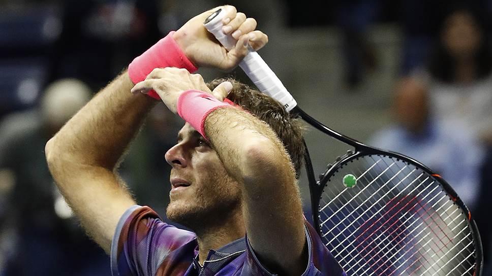 Хуан Мартин дель Потро (на фото) спустя восемь лет снова лишил Роджера Федерера шанса победить в US Open