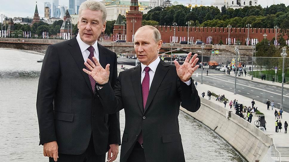 Как президент России и мэр Москвы пытались осмыслить новый парк и что из этого вышло