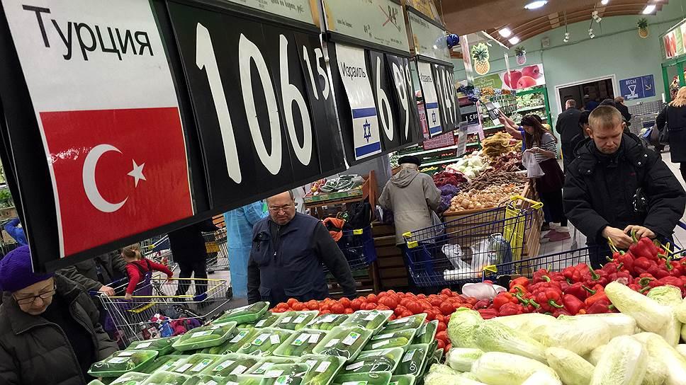 Когда возобновится импорт в Россию томатов из Турции