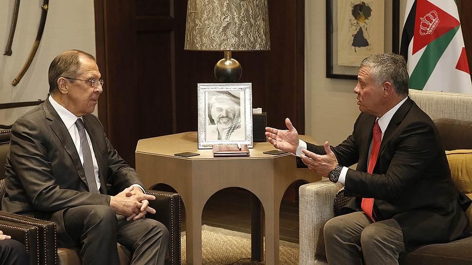 Как прошел визит главы МИД РФ Сергея Лаврова в Иорданию