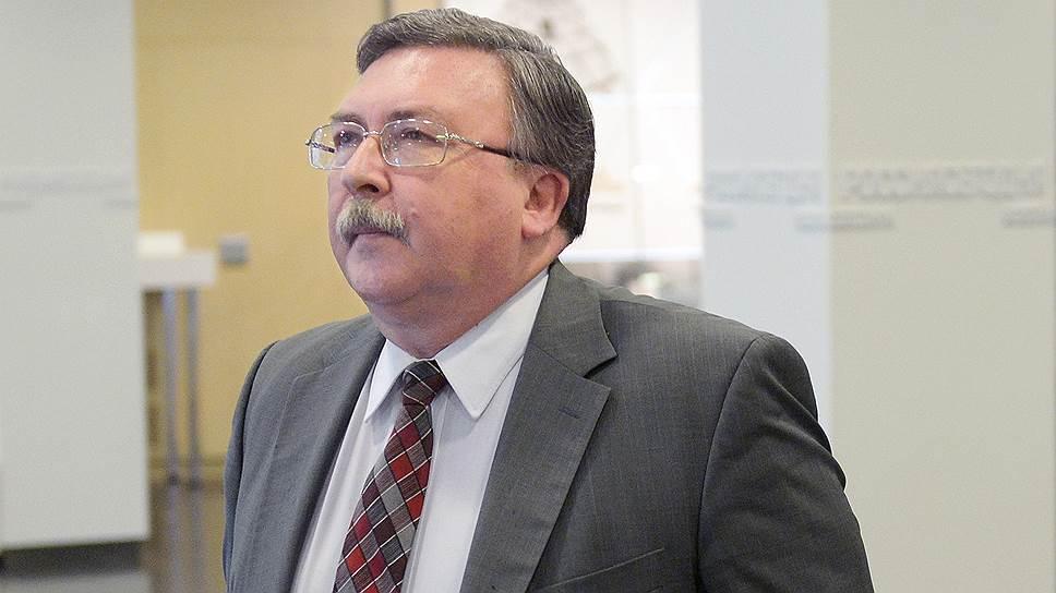 Директор департамента МИД России по вопросам безопасности и разоружению Михаил Ульянов