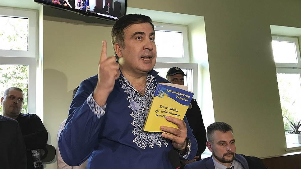 Как Михаил Саакашвили стал основной проблемой Киева