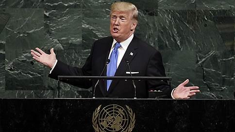 Дональд Трамп бряцает терпением // Президент США готов уничтожить КНДР, но надеется, что этого не понадобится