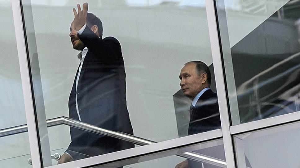 Как Владимир Путин приехал в «Яндекс»