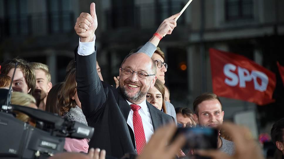 На что рассчитывал кандидат от социал-демократов Мартин Шульц