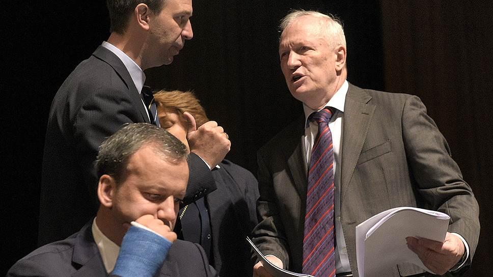 Как проходили выборы президента РАН