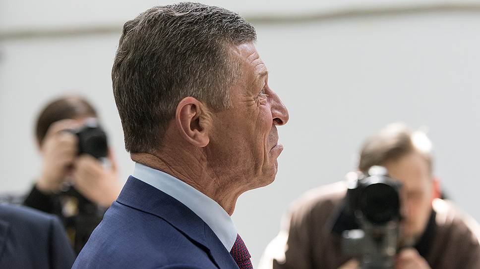 Как Дмитрий Козак объявил губернаторам условия реструктуризации долгов по кредитам
