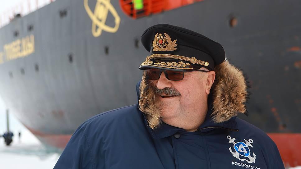 Глава «Атомфлота» Вячеслав Рукша о том, чем ледоколы похожи на трубопроводы