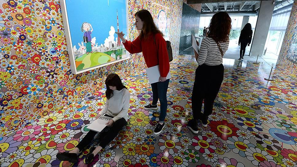 Хиросима на выставке Мураками оказалась на редкость привлекательной