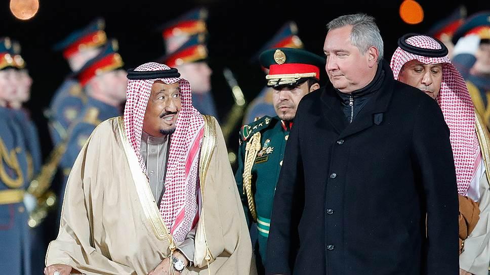 Чего ждали от первого визита в Россию короля Саудовской Аравии