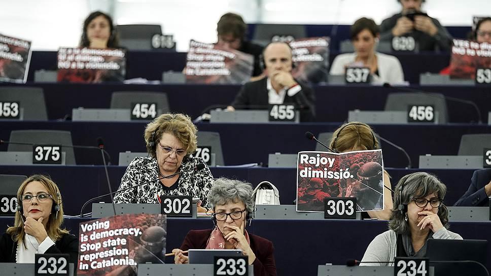 Какую позицию по каталонскому референдуму занял Евросоюз