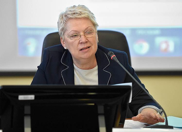 Глава Минобрнауки Ольга Васильева предложила выполнить указ Владимира Путина, сократив число вузов в программе «5–100»