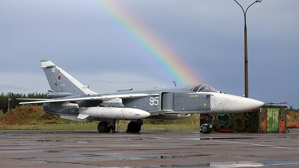 Как ВКС РФ потеряли в Сирии бомбардировщик Су-24М и двух пилотов