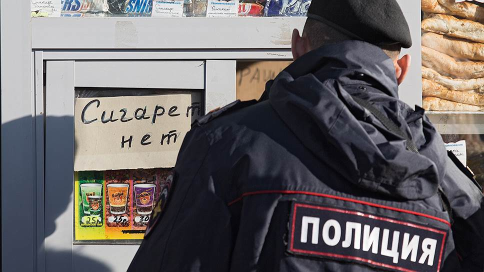 Нелегальные сигареты вышли на улицу
