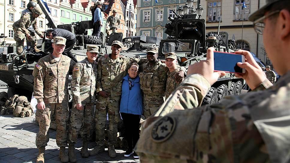 Скопление американской техники в Польше не понравилось российским военным