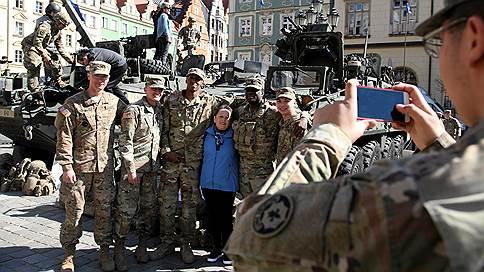 Расчеты Минобороны дали дивизию // Скопление американской техники в Польше не понравилось российским военным
