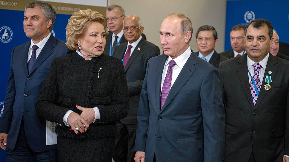 Как межпарламентская ассамблея превратилась в фотосессию с Владимиром Путиным