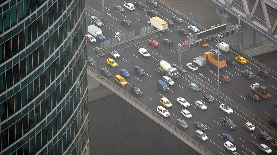 Мэрии Москвы не нравится возросший трафик в центральной части города