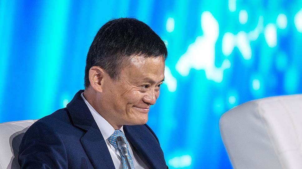 Основатель Alibaba Group Джек Ма был главным после Владимира Путина ньюсмейкером этой встречи