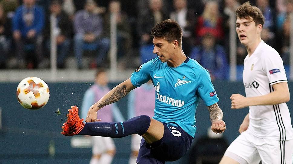 Как футболисты «Зенита» одержали третью победу подряд на групповом этапе Лиги Европы