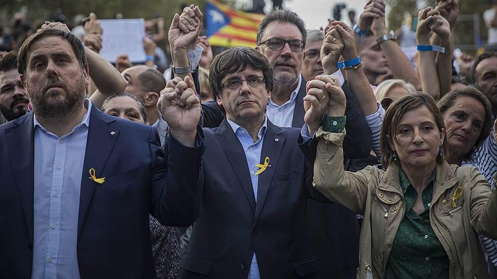 Как Мадрид пытается подавить бунт Барселоны