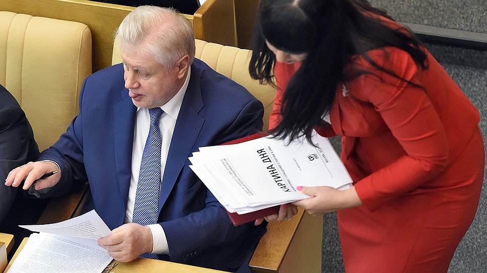 Почему Валерий Черешнев не хочет писать отказ от депутатского мандата