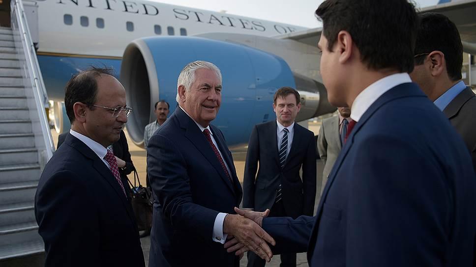 Рекс Тиллерсон призвал к сдерживанию Ирана и Пакистана