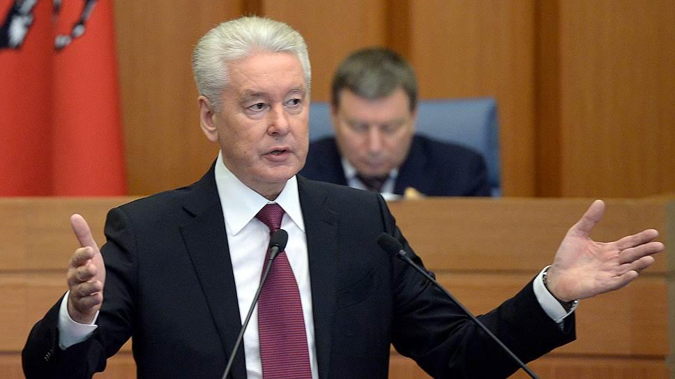 Сергей Собянин не стал говорить о предстоящих выборах мэра, но о будущем города рассказал