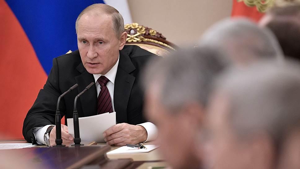 Владимир Путин предупредил руководителей госструктур о личной ответственности за кибербезопасность
