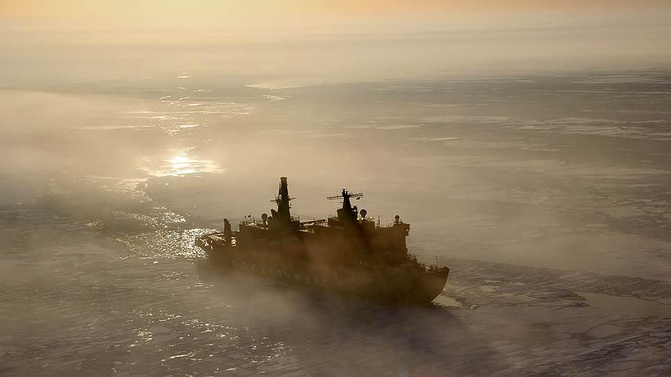 Как Минтранс и «Росатом» столкнулись на Северном морском пути