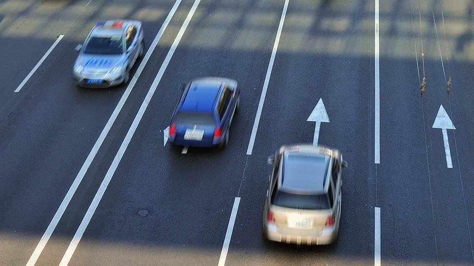 Минтранс предлагает меры по замедлению дорожного движения