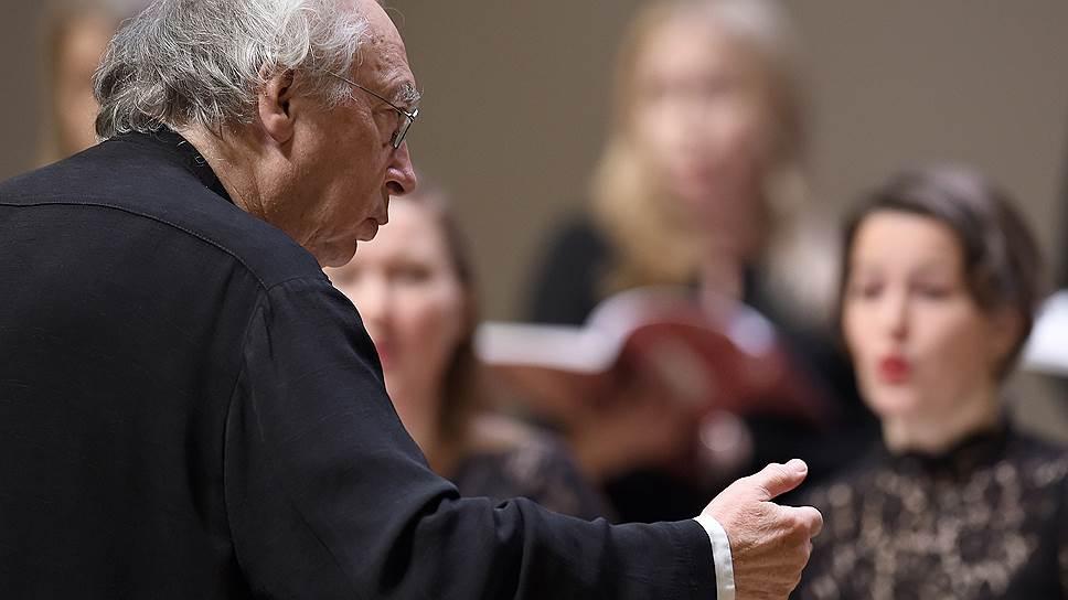Исполнением «Вечерни» Филипп Херревеге отметил сразу два юбилея: 450-летие Монтеверди и собственное 70-летие