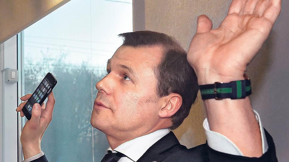Перед отъездом Дмитрия Страшнова в Швейцарию следствие арестовало его активы