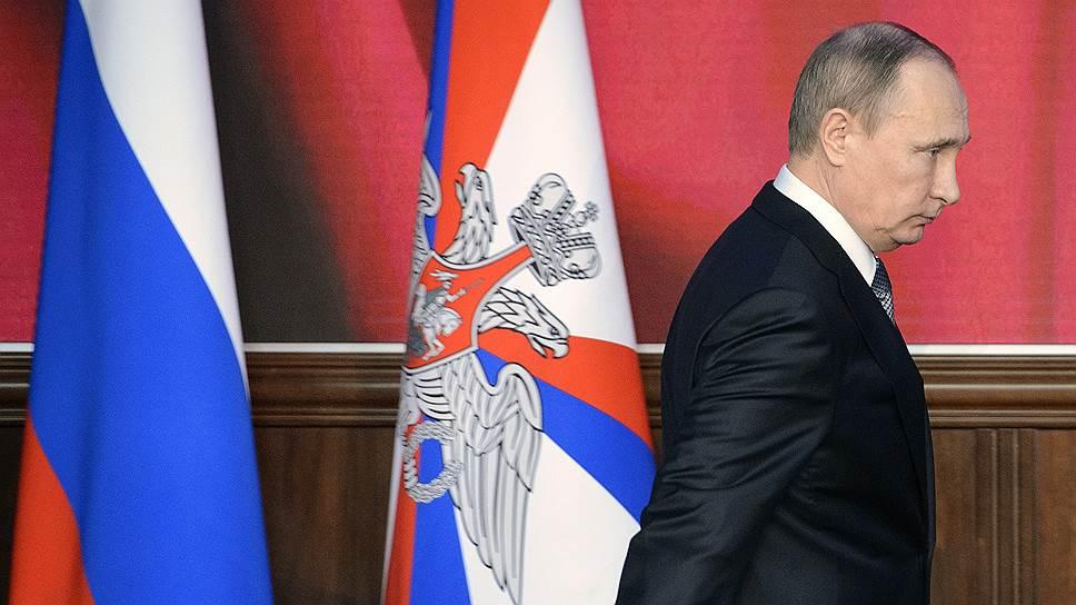 Президент примет участие в коллегии Министерства обороны 22 декабря