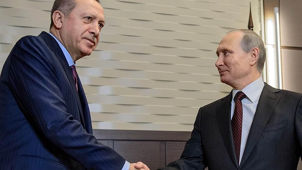 Реджепу Тайипу Эрдогану теле- и фотокамеры оказались интереснее, чем Владимир Путин