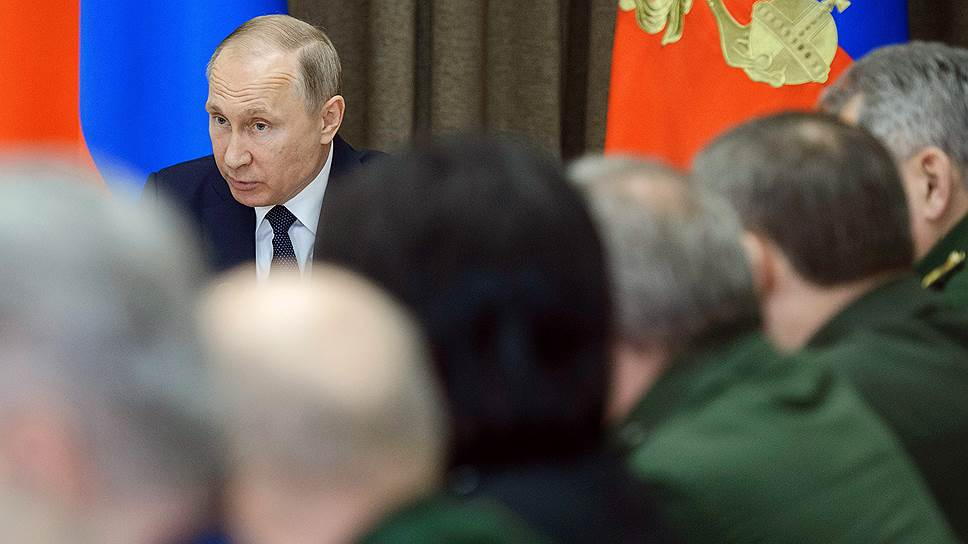 Финансовые параметры новой госпрограммы вооружения будут согласовываться при непосредственном участии Владимира Путина